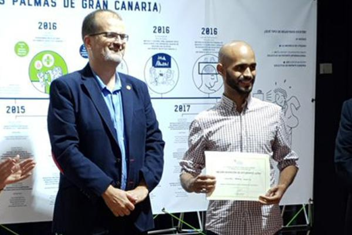 Premio a la Mejor Invención de Estudiantes ULPGC en la clausura de la 'Patents Week'